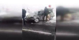 Katliam gibi kazada jandarma Uzman Çavuş, eşi ve minik oğulları yaşamını yitirdi