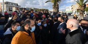 Tunus Cumhurbaşkanından gençlere 'gösterilerde mülklere zarar vermeyin' çağrısı