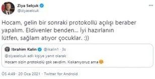 """Bakan Selçuk'tan İbrahim Kalın'a yanıt: """"Hocam, gelin bir sonraki protokollü açılışı beraber yapalım"""""""