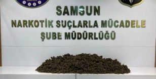 Samsun'da 12 kilo 350 gram esrar ele geçirildi: 2'si kadın 3 gözaltı