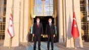 Cumhurbaşkanı Yardımcısı Oktay, kayınpederi vefat eden KKTC Başbakanı Saner ile telefonda görüştü