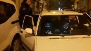 Polis kovalamacası sonucu yakalandılar