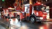 Şişli'de 8 katlı binada yangın