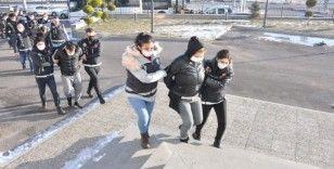 Karaman'daki operasyonda son 11 kişide adliyeye sevk edildi