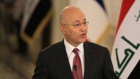 Irak Cumhurbaşkanı Salih: Bağdat'taki patlama halkın barış ve geleceğini hedef aldı