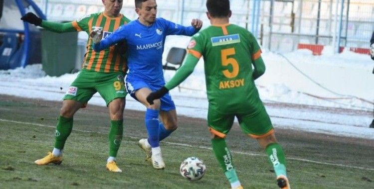 Süper Lig: BB Erzurumspor: 1 - Alanyaspor: 1 (Maç sonucu)