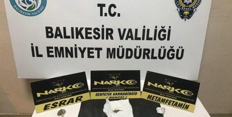 Balıkesir'de 8 uyuşturucu şüphelisi yakalandı
