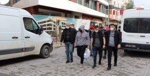 Kuşadası'ndaki 16 ayrı hırsızlık olayının şüphelisi 7 kişi yakalandı