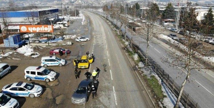 Drone destekli uygulamada 20 kişiye 23 bin lira ceza