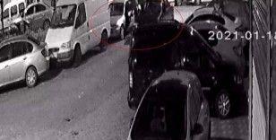 MOBESE kameralarının altında 30 saniyede araba çaldılar