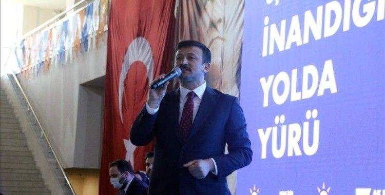 AK Parti Genel Başkan Yardımcısı Dağ, AK Parti Uşak 7. Olağan İl Kongresi'nde konuştu