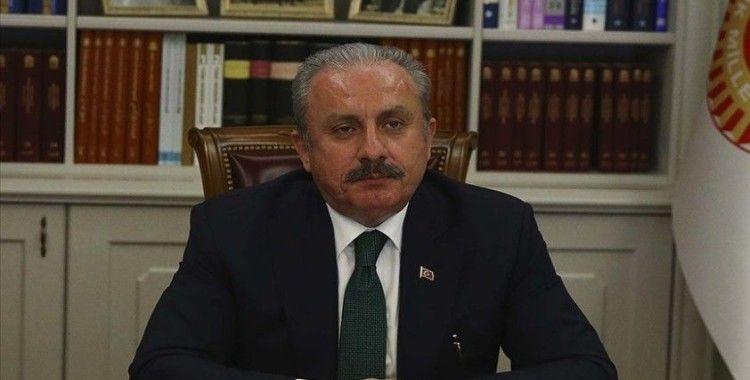 TBMM Başkanı Şentop: Türkiye tarafından 1992'den bu yana 5 bin Kazak öğrenciye YTB bursu verildi