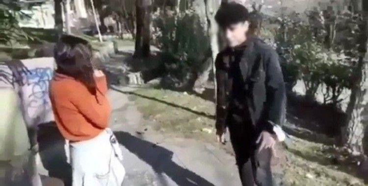 18 yaşından küçük sevgilisini darp ederek kayda aldı