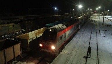 Çin ve Rusya'ya giden ihracat treni Sivas'ta