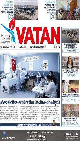 Güzel Vatan Gazetesi Sayı:137