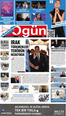 OGÜN Gazetesi Sayı:250