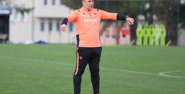 Trabzonspor, Gaziantep FK maçı hazırlıklarına ara vermeden başladı