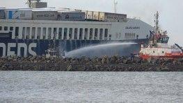 'Gallipoli Seaways' isimli gemideki yangın söndürüldü