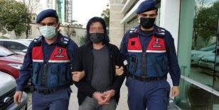 Samsun'da DEAŞ'tan gözaltına alınan yabancı uyruklu şahıs adliyeye sevk edildi