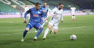 Çaykur Rizespor sahasında, BB Erzurumspor'a 2-0  mağlup oldu