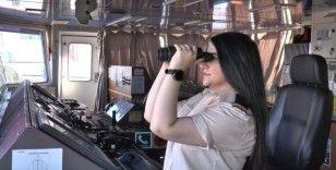 Okyanusları aşan Türk kadın kaptan