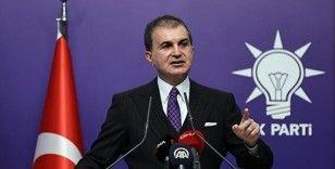 AK Parti Sözcüsü Çelik'ten ABD'nin PKK katliamına ilişkin açıklamasına tepki