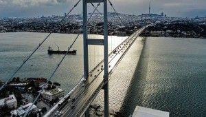 İstanbul semalarından masalsı görüntüler