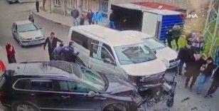 Esenyurt'ta hırsızlık çetesi baltayı taşa vurdu