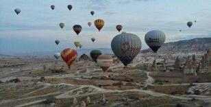 Kapadokya'da sıcak hava balon turları 19 Şubat'a kadar yapılamayacak