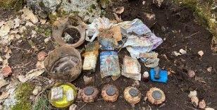 Şırnak'ta teröristlere ait çok sayıda mühimmat ele geçirildi