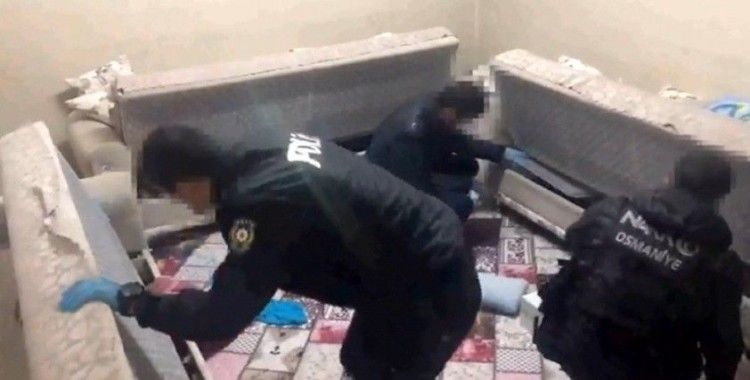 Osmaniye merkezli uyuşturucu operasyonu: 10 gözaltı