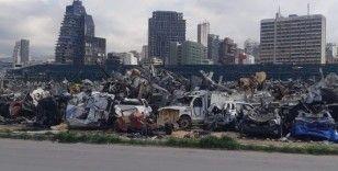 Facianın yaşandığı Beyrut limanında, onarım çalışmaları yavaş ilerliyor