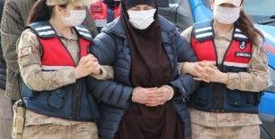 Kırmızı bültenle aranan DEAŞ'lı kadın sınır dışı edilecek