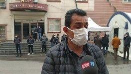 Şehit cenaze törenine katılan evlat nöbetindeki aileler PKK ve HDP'ye ateş püskürdüler