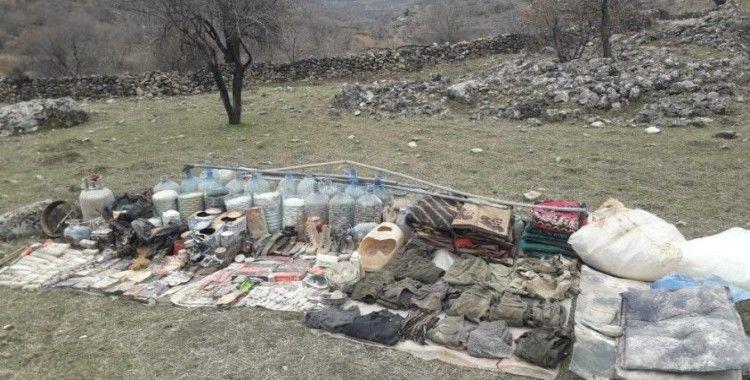 Batman'da PKK'nın kış yapılanmasına darbe vuruldu
