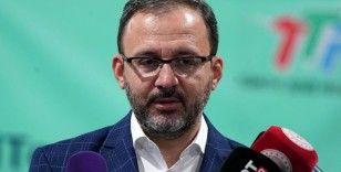 """Bakan Kasapoğlu: """"Türkiye'nin sporcuları yarınlara mührünü vuracak"""""""