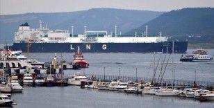 Cezayir'den yola çıkan LNG gemisi 21 Şubat'ta Türkiye'ye ulaşacak