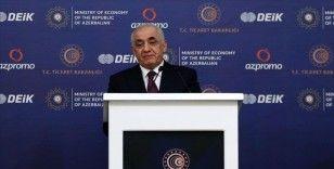 Esedov: Türkiye'ye yatırım yapan Azerbaycanlı iş insanları Orta Asya ve Kafkasya iş insanları arasında ilk sıradadır