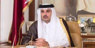 Katar Emiri Al Sani, Hariri ile görüşmesinde Lübnan'a destek olmayı sürdüreceklerini vurguladı