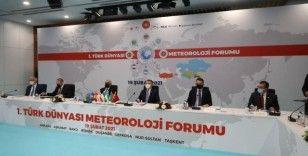 """Bakan Pakdemirli: """"Dilde, fikirde, işde birlik, bizim Türk Dünyası ile olan en büyük amacımızdır"""""""