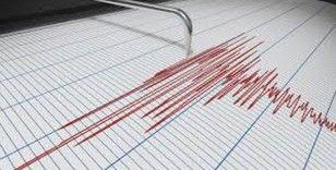 Çankırı'da 3.4 büyüklüğünde deprem