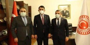 AK Parti Milletvekilleri Açıkgöz ve Menekşe'den Bakan Kurum'a teşekkür