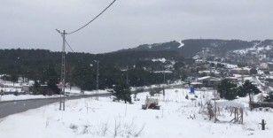 İstanbul'da yüksek kesimlerde kar yağışı başladı