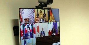 G7 ülkeleri, Kovid-19'la mücadelede iş birliklerini yoğunlaştıracak