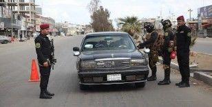 Irak'ta sokağa çıkma yasağı devam ediyor