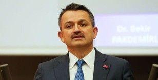 Bakan Pakdemirli: 'Üreticilerimize yaklaşık 362 milyon liralık destek ödemelerine bugün başlıyoruz'