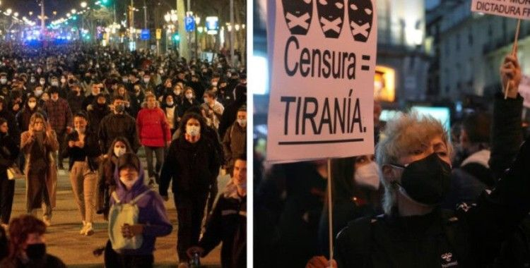 İspanya'da rapçi Hasel protestoları 5. gününde
