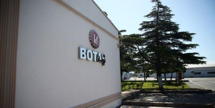 BOTAŞ'ın 2020 yılı iletim şebekesi yatırım tavanı tutarı değişti
