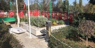 Adana'da şehit kabirlerinin de arasında olduğu 79 mezar tahrip edildi