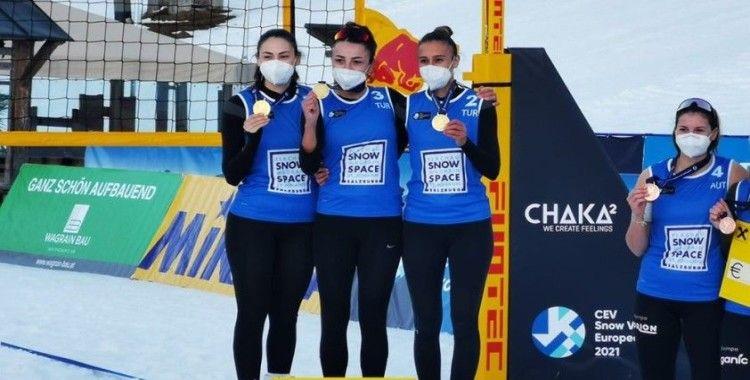 Kar Voleybolu Milli Takımı, Avrupa Turu'nda namağlup şampiyon